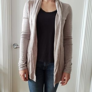 Express - Oatmeal Colored Cardigan